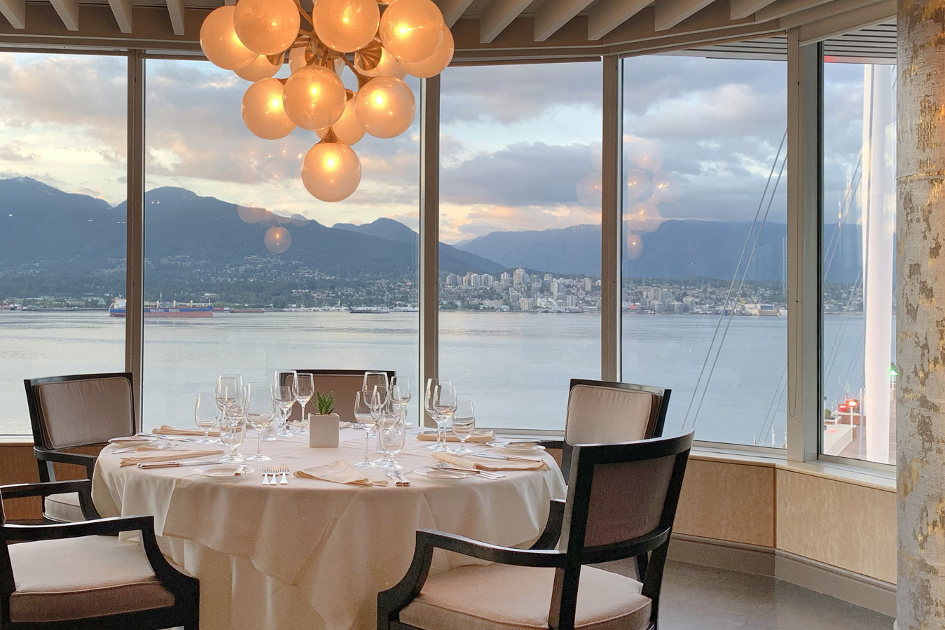 Five Sails Food and Views